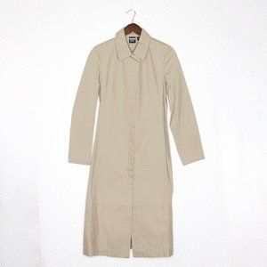 GAP 100% Cotton Light Weight Khaki Trench Coat